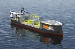 ULSTEIN LX109 cable lay vessel_starboard